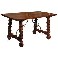 Spanish Baroque Trestle Table